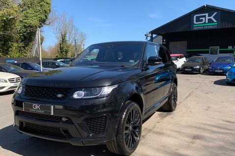 Land Rover Range Rover Sport 5.0 V8 S/C SVR - TRIPLE BLACK - CARBON INTERIOR PACK - SLIDING PAN ROOF 92