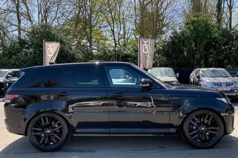 Land Rover Range Rover Sport 5.0 V8 S/C SVR - TRIPLE BLACK - CARBON INTERIOR PACK - SLIDING PAN ROOF 4