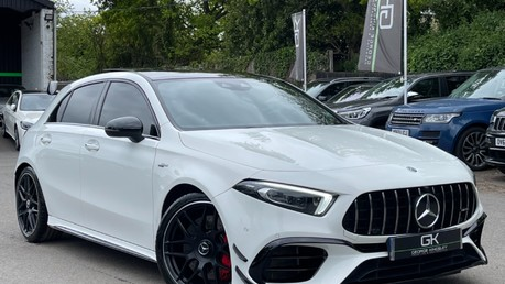 Mercedes-Benz A Class AMG A 45 S 4MATICPLUS PLUS - ONE OWNER -FULL MERCEDES SERVICE HISTORY Video