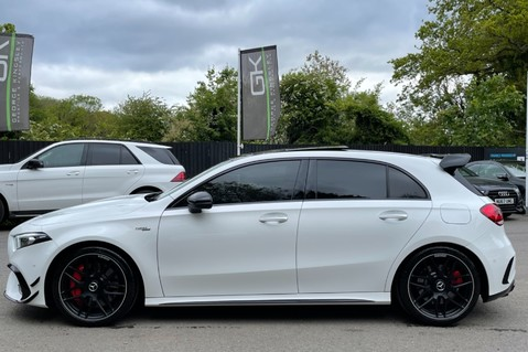 Mercedes-Benz A Class AMG A 45 S 4MATICPLUS PLUS - ONE OWNER -FULL MERCEDES SERVICE HISTORY 8
