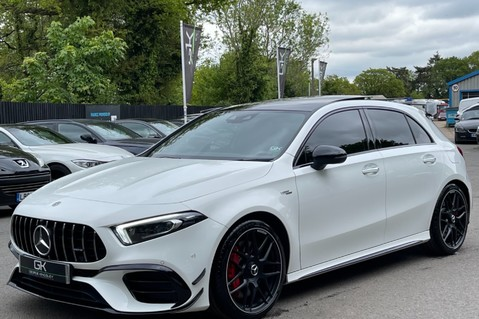 Mercedes-Benz A Class AMG A 45 S 4MATICPLUS PLUS - ONE OWNER -FULL MERCEDES SERVICE HISTORY 9