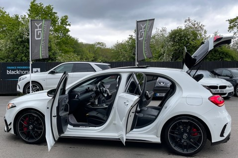 Mercedes-Benz A Class AMG A 45 S 4MATICPLUS PLUS - ONE OWNER -FULL MERCEDES SERVICE HISTORY 17