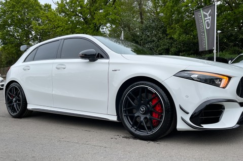 Mercedes-Benz A Class AMG A 45 S 4MATICPLUS PLUS - ONE OWNER -FULL MERCEDES SERVICE HISTORY 37