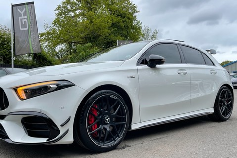 Mercedes-Benz A Class AMG A 45 S 4MATICPLUS PLUS - ONE OWNER -FULL MERCEDES SERVICE HISTORY 38