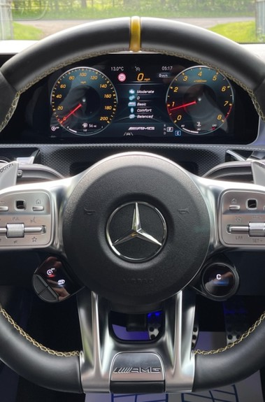Mercedes-Benz A Class AMG A 45 S 4MATICPLUS PLUS - ONE OWNER -FULL MERCEDES SERVICE HISTORY