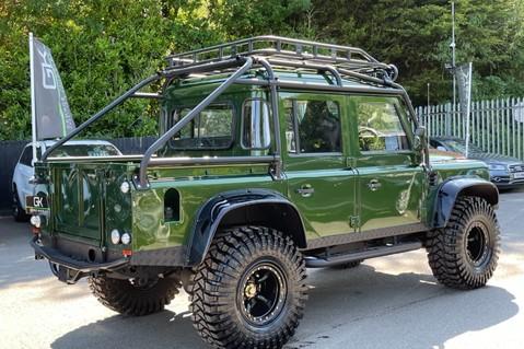 Land Rover Defender 110 TD5 DOUBLE CAB SPECTRE - LAMBORGHINI VERDE ERMES PEARL GREEN 7