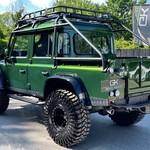 Land Rover Defender Service History