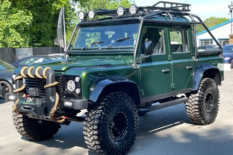 Land Rover Defender 110 TD5 DOUBLE CAB SPECTRE - LAMBORGHINI VERDE ERMES PEARL GREEN 10