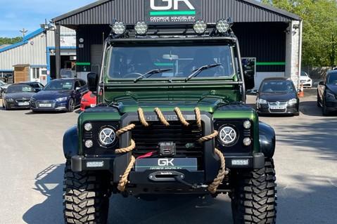 Land Rover Defender 110 TD5 DOUBLE CAB SPECTRE - LAMBORGHINI VERDE ERMES PEARL GREEN 11