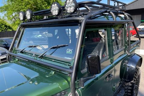 Land Rover Defender 110 TD5 DOUBLE CAB SPECTRE - LAMBORGHINI VERDE ERMES PEARL GREEN 22
