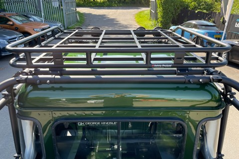 Land Rover Defender 110 TD5 DOUBLE CAB SPECTRE - LAMBORGHINI VERDE ERMES PEARL GREEN 23