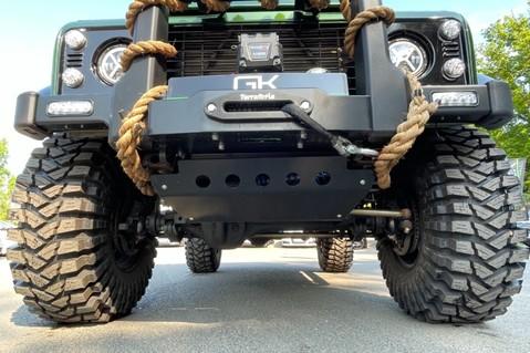 Land Rover Defender 110 TD5 DOUBLE CAB SPECTRE - LAMBORGHINI VERDE ERMES PEARL GREEN 52