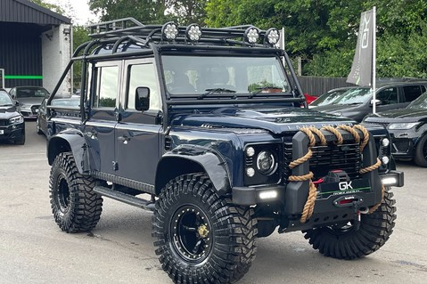 Land Rover Defender 110 2.2 TD COUNTY DOUBLE CAB - SPECTRE INSPIRED - LOIRE BLUE 1