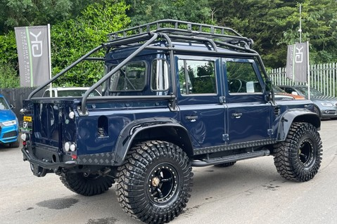 Land Rover Defender 110 2.2 TD COUNTY DOUBLE CAB - SPECTRE INSPIRED - LOIRE BLUE 5