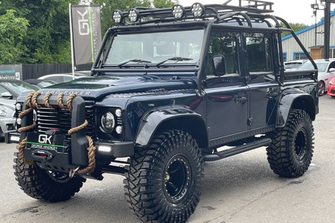 Land Rover Defender 110 2.2 TD COUNTY DOUBLE CAB - SPECTRE INSPIRED - LOIRE BLUE 7