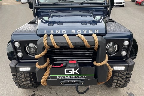 Land Rover Defender 110 2.2 TD COUNTY DOUBLE CAB - SPECTRE INSPIRED - LOIRE BLUE 9
