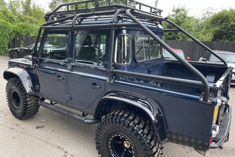 Land Rover Defender 110 2.2 TD COUNTY DOUBLE CAB - SPECTRE INSPIRED - LOIRE BLUE 19