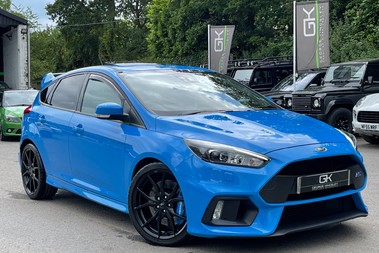 Ford Focus RS -LUX PACK -BUCKET SEATS -EVERY FACTORY EXTRA- 1 OWNER -4 FORD SERVICES