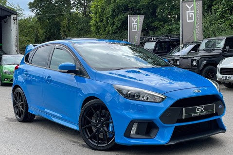 Ford Focus RS -LUX PACK -BUCKET SEATS -EVERY FACTORY EXTRA- 1 OWNER -4 FORD SERVICES 1