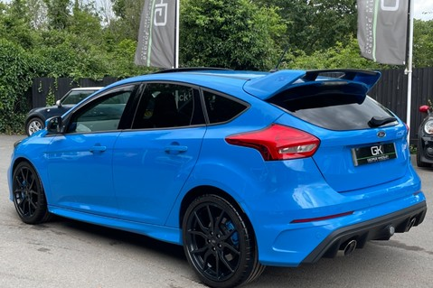 Ford Focus RS -LUX PACK -BUCKET SEATS -EVERY FACTORY EXTRA- 1 OWNER -4 FORD SERVICES 2