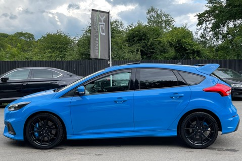 Ford Focus RS -LUX PACK -BUCKET SEATS -EVERY FACTORY EXTRA- 1 OWNER -4 FORD SERVICES 12