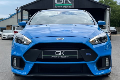 Ford Focus RS -LUX PACK -BUCKET SEATS -EVERY FACTORY EXTRA- 1 OWNER -4 FORD SERVICES 13