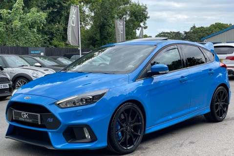 Ford Focus RS -LUX PACK -BUCKET SEATS -EVERY FACTORY EXTRA- 1 OWNER -4 FORD SERVICES 14