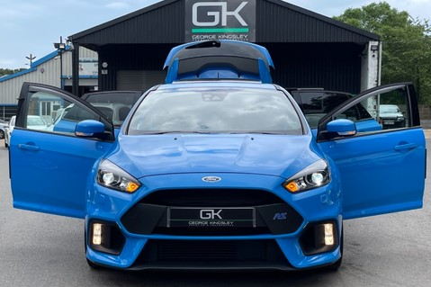Ford Focus RS -LUX PACK -BUCKET SEATS -EVERY FACTORY EXTRA- 1 OWNER -4 FORD SERVICES 15