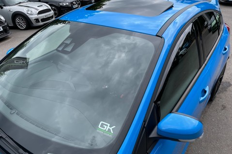 Ford Focus RS -LUX PACK -BUCKET SEATS -EVERY FACTORY EXTRA- 1 OWNER -4 FORD SERVICES 17
