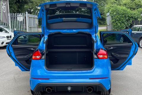 Ford Focus RS -LUX PACK -BUCKET SEATS -EVERY FACTORY EXTRA- 1 OWNER -4 FORD SERVICES 18