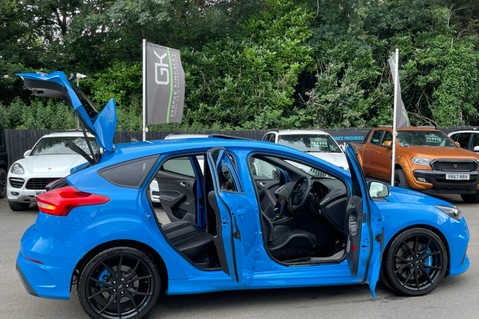 Ford Focus RS -LUX PACK -BUCKET SEATS -EVERY FACTORY EXTRA- 1 OWNER -4 FORD SERVICES 21