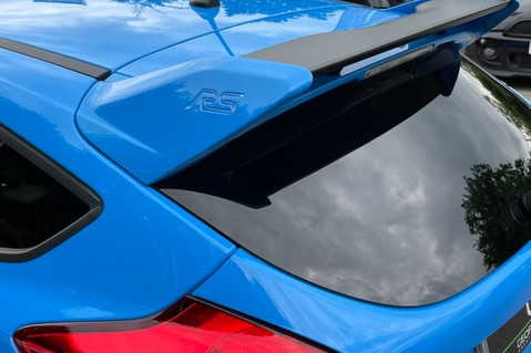 Ford Focus RS -LUX PACK -BUCKET SEATS -EVERY FACTORY EXTRA- 1 OWNER -4 FORD SERVICES 25
