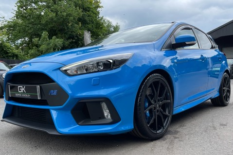 Ford Focus RS -LUX PACK -BUCKET SEATS -EVERY FACTORY EXTRA- 1 OWNER -4 FORD SERVICES 26