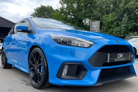 Ford Focus RS -LUX PACK -BUCKET SEATS -EVERY FACTORY EXTRA- 1 OWNER -4 FORD SERVICES 27
