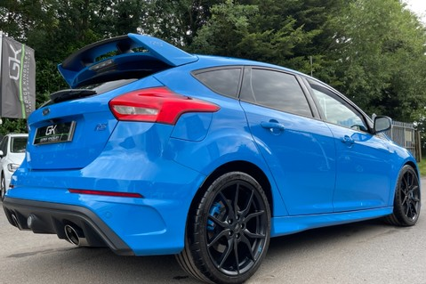 Ford Focus RS -LUX PACK -BUCKET SEATS -EVERY FACTORY EXTRA- 1 OWNER -4 FORD SERVICES 30