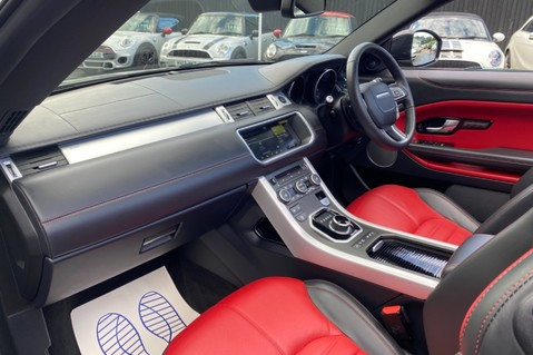 Land Rover Range Rover Evoque TD4 HSE DYNAMIC - RED/BLACK LEATHER - APPLE CARPLAY - ONE OWNER FROM NEW 20