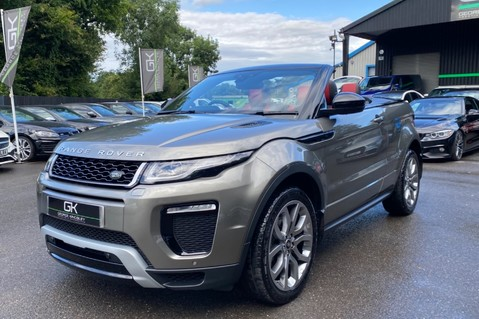 Land Rover Range Rover Evoque TD4 HSE DYNAMIC - RED/BLACK LEATHER - APPLE CARPLAY - ONE OWNER FROM NEW 21