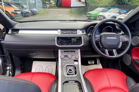Land Rover Range Rover Evoque TD4 HSE DYNAMIC - RED/BLACK LEATHER - APPLE CARPLAY - ONE OWNER FROM NEW 11