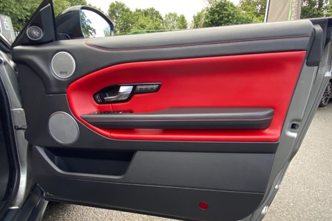 Land Rover Range Rover Evoque TD4 HSE DYNAMIC - RED/BLACK LEATHER - APPLE CARPLAY - ONE OWNER FROM NEW 25