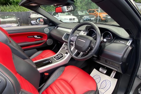 Land Rover Range Rover Evoque TD4 HSE DYNAMIC - RED/BLACK LEATHER - APPLE CARPLAY - ONE OWNER FROM NEW 28