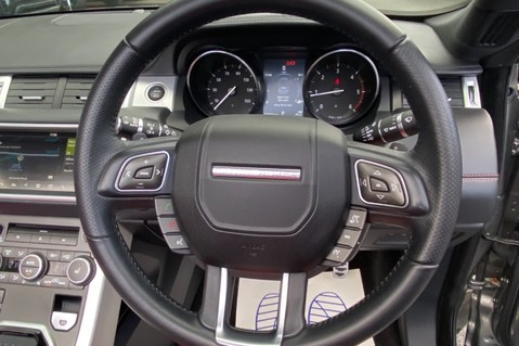 Land Rover Range Rover Evoque TD4 HSE DYNAMIC - RED/BLACK LEATHER - APPLE CARPLAY - ONE OWNER FROM NEW 33
