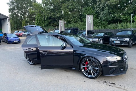 Audi RS4 RS4 AVANT FSI QUATTRO- SPORTS PACKAGE- ADAPTIVE CRUISE- B&O- CRYSTAL PAINT 103