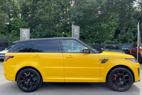 Land Rover Range Rover Sport SVR -RARE PREMIUM PALLETE MATT YELLOW-HEAD UP-ELECTRIC STEPS- SLIDING ROOF 6