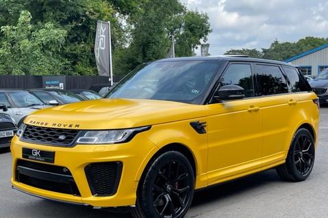 Land Rover Range Rover Sport SVR -RARE PREMIUM PALLETE MATT YELLOW-HEAD UP-ELECTRIC STEPS- SLIDING ROOF 8