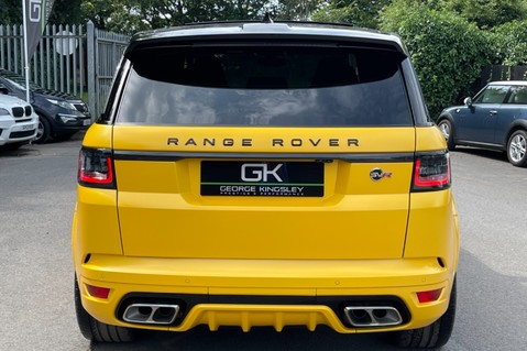 Land Rover Range Rover Sport SVR -RARE PREMIUM PALLETE MATT YELLOW-HEAD UP-ELECTRIC STEPS- SLIDING ROOF 9