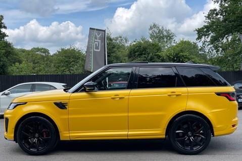 Land Rover Range Rover Sport SVR -RARE PREMIUM PALLETE MATT YELLOW-HEAD UP-ELECTRIC STEPS- SLIDING ROOF 10