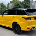 Land Rover Range Rover Sport Service History