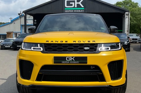 Land Rover Range Rover Sport SVR -RARE PREMIUM PALLETE MATT YELLOW-HEAD UP-ELECTRIC STEPS- SLIDING ROOF 12