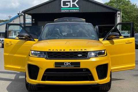 Land Rover Range Rover Sport SVR -RARE PREMIUM PALLETE MATT YELLOW-HEAD UP-ELECTRIC STEPS- SLIDING ROOF 14
