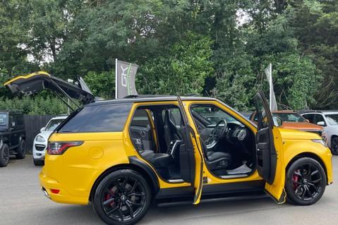 Land Rover Range Rover Sport SVR -RARE PREMIUM PALLETE MATT YELLOW-HEAD UP-ELECTRIC STEPS- SLIDING ROOF 15